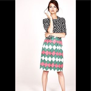 Boden Top and Skirt